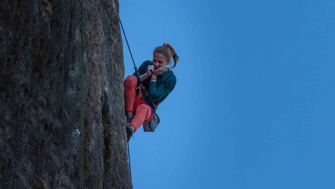Martina Demmel klettert 9a