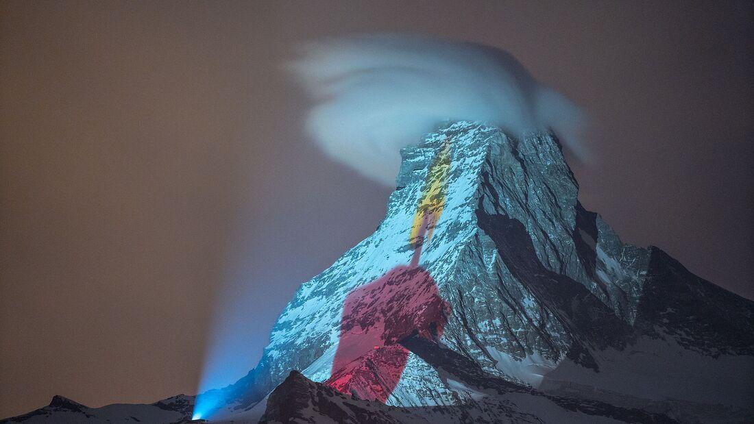 Matterhorn 2020 - Osterkerze