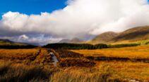 Maumturk Mountains Connemara