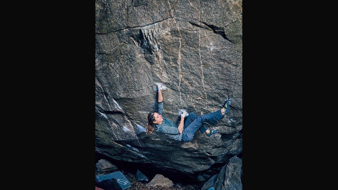 Melissa Le Neve in Vecchio leone (Fb 8B), Brione, Schweiz