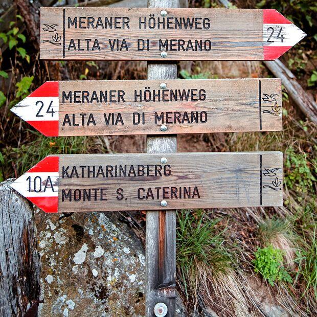 Meraner Höhenweg - Südtirol