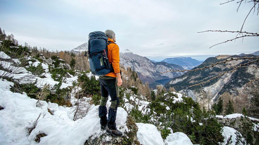 Micro Adventures im Winter, Interview Christo Foerster