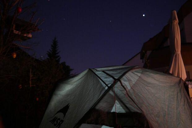 Microadventures - Zelten im Garten