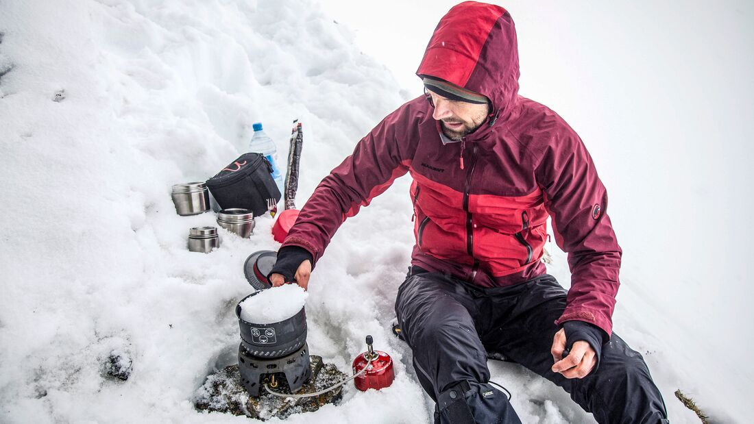 Microadventures im Winter, Interview Christo Foerster
