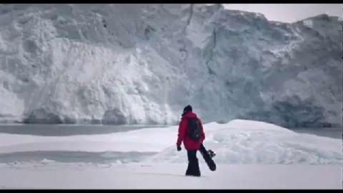 Mission Antarctic - Expedition mit Snowboarder Xavier de Le Rue