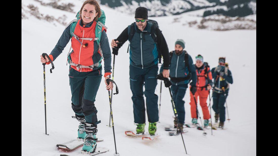 Mit Schöffel-Bekleidung auf Skitour - Lesertest 2020