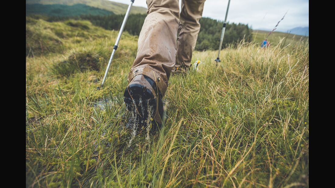 Mit dem Haglöfs Skuta Mid Wanderstiefel in Irland