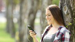 Musik hören übers Smartphone