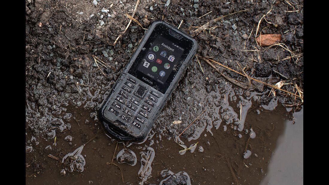 Nokia 800 tough Outdoorhandy