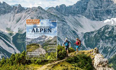 OD 01/2019 Sonderheft Reise Alpen Tourenspecial Aufmacherbild Allgäu - mit Heftcover