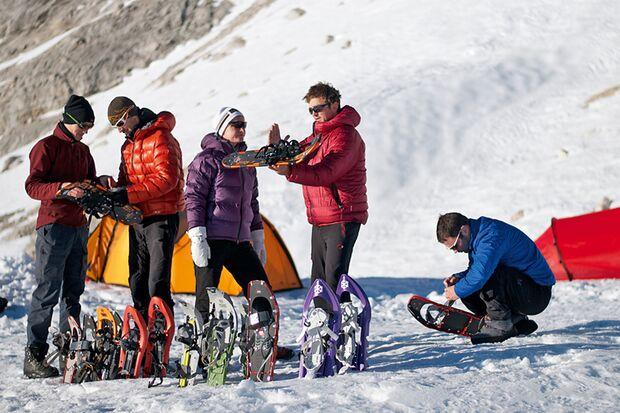 OD 0112 Schneeschuhe Test