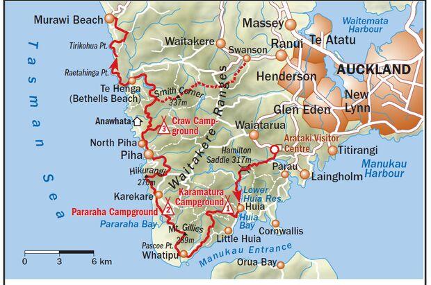 OD-0114-Neuseeland-Hillary-Trail-Karte (jpg)