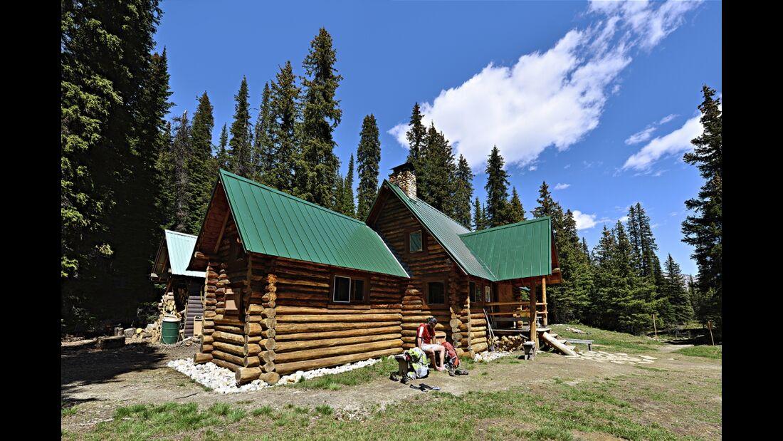 OD 0117 Kanada Yoho National Park Stanley Mitchell Hut