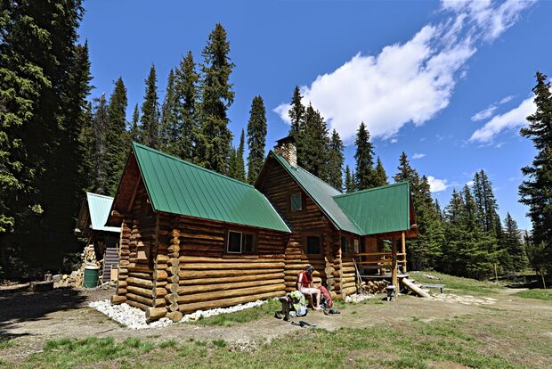 OD 0117 Kanada Yoho National Park Stanley Mitchell Hut