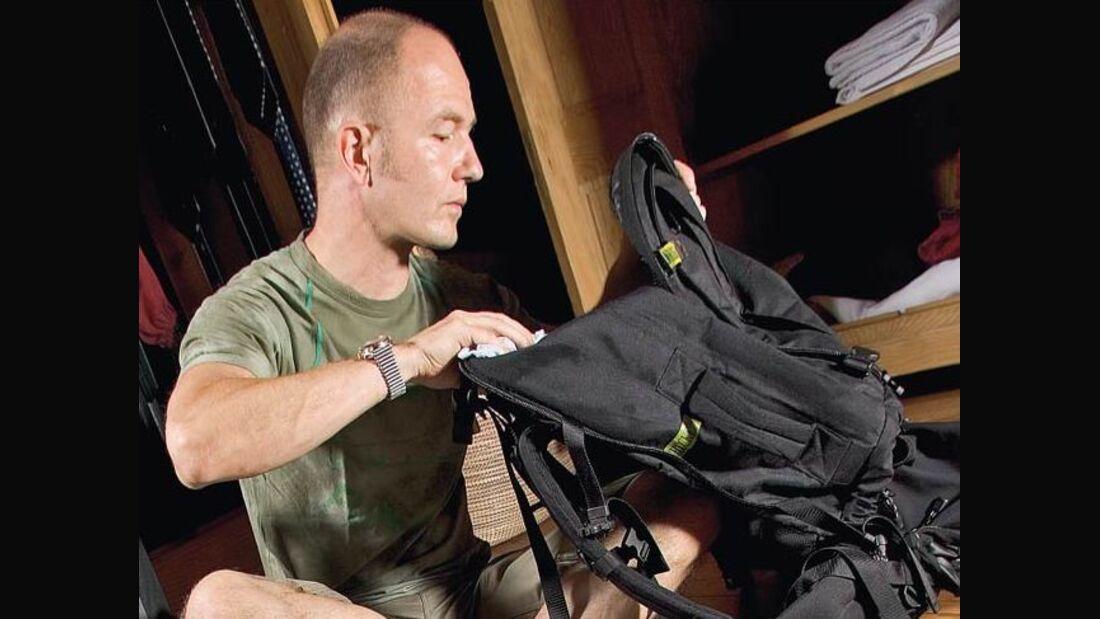 OD 0211 Packliste Tourenplanung Rucksack