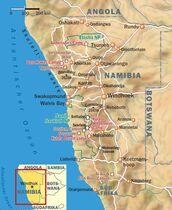 Namib Wüste Karte.Namibia Reportage Reisetipps Outdoor Magazin Com