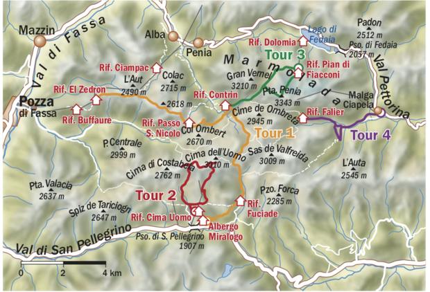 OD 0219 Marmolada Karte