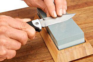 Gut gemocht Messer schärfen - aber richtig - outdoor-magazin.com BE27