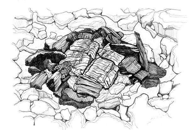 OD 0318 Know How Fisch am Feuer Glut Illustration