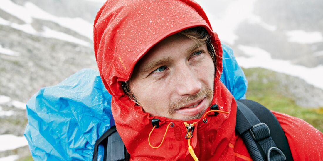 OD 0413 Wandern Regenschutz Regenkleidung Funktionsjacke Wanderjacke