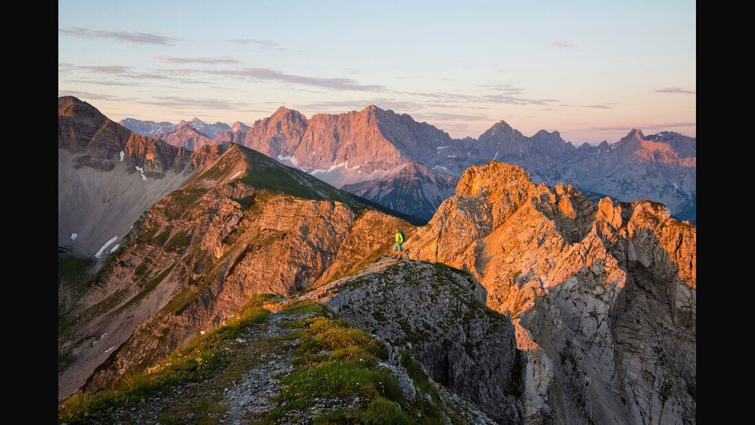 OD 0418 Bayern Mittenwald Karwendel Wetterstein Teaser Aufmacher