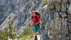 OD 0418 Mittenwald Bayern Wettersteinspitze