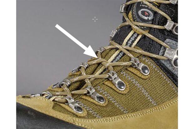 OD 0418 Schuhe binden Stopper einbauen