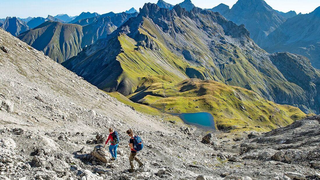 OD 0419 Oberstdorf Allgaeu Allgaeuer Alpen Tour 1 Rubihorn Teaser