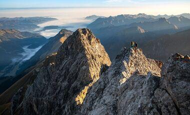 OD 0419 Oberstdorf Allgaeu Allgaeuer Alpen Tour 3 Maedelegabel Teaser