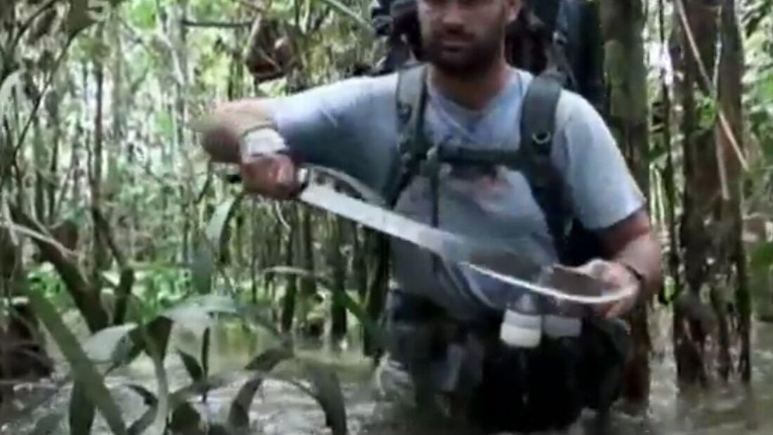 OD 0512 Ed Stafford Amazonas Dschungel-Trip Video-Teaser