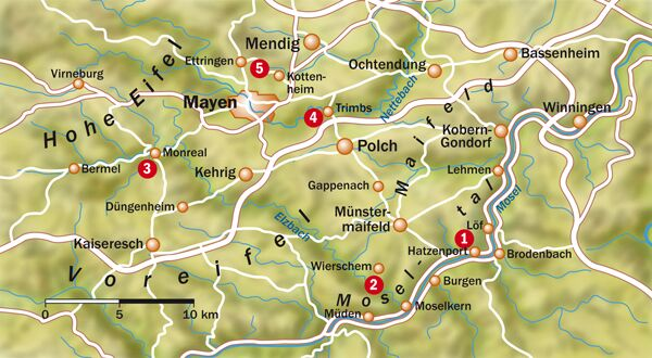 OD 0512 Eifel - Übersichtskarte