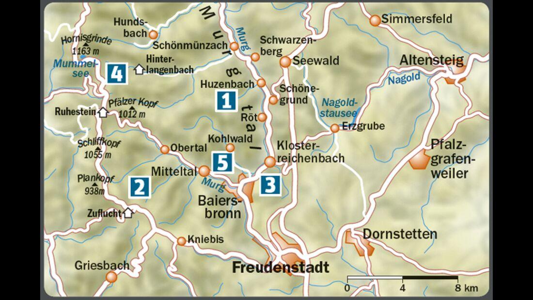 OD-0515-Schwarzwald-Baiersbronn-Karte Lage