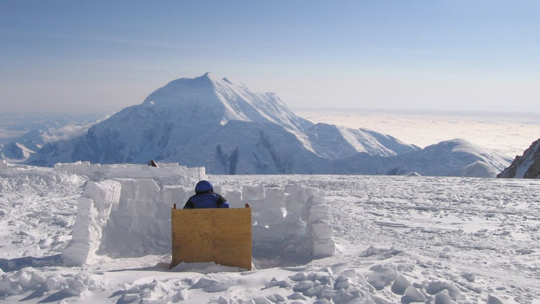 OD 0516 Klo im Nirgendwo Alaska Mount McKinley