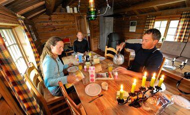 OD 0516 Skandinavien Special Hütten Unterkunft
