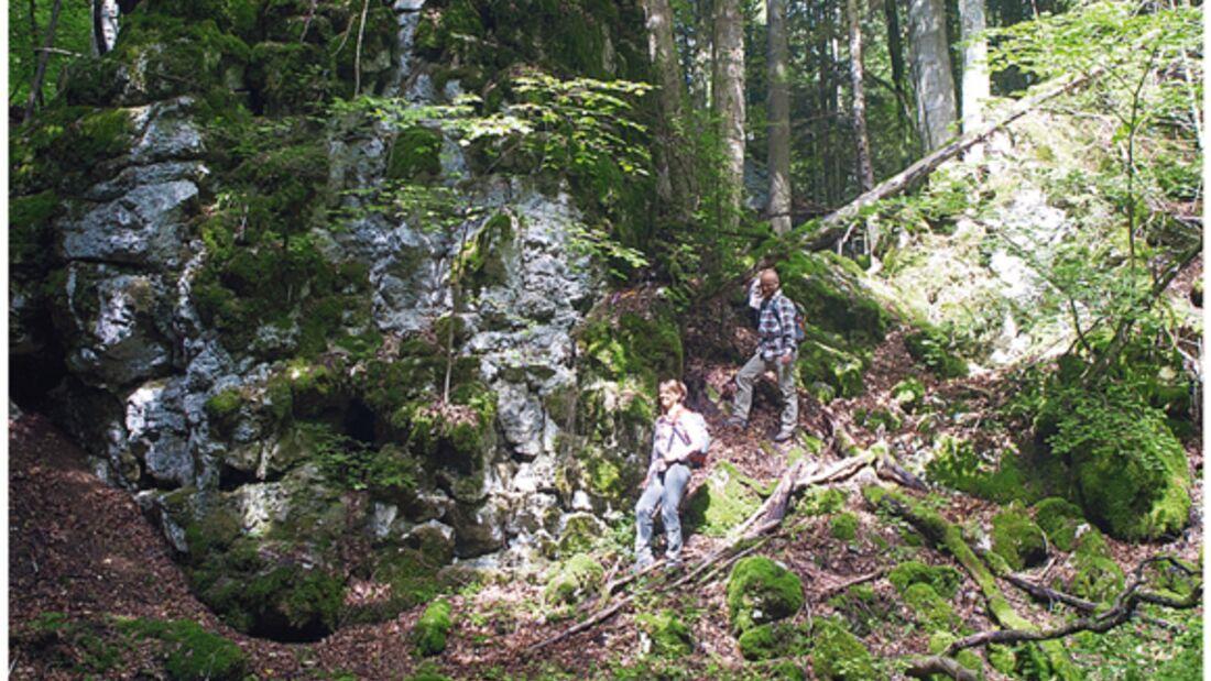 OD 0612 Rund um Albstadt Schwäbische Alb - Tour: Felsenmeersteig