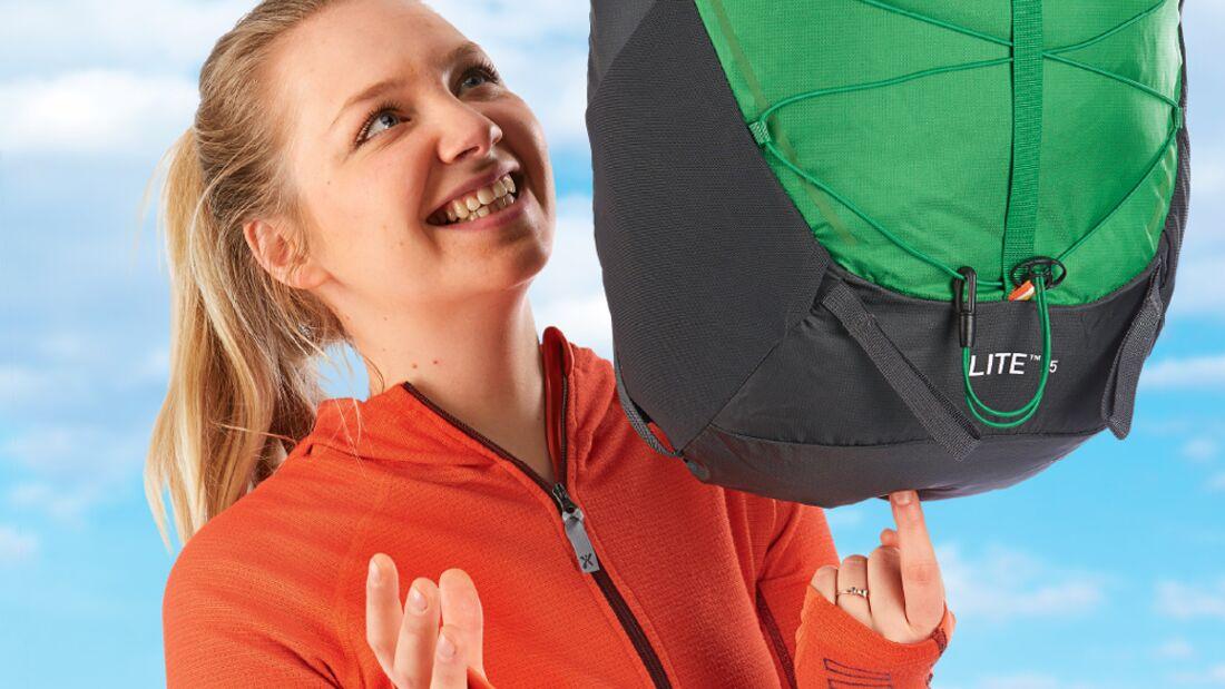 OD 0615 Leichtausrüstung Leichtwandern Gewicht sparen Gepäck