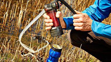 OD 0616 Basislager Instructor Trinkwasser entkeimen filtern Druck