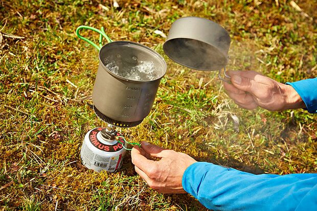 OD 0616 Basislager Instructor Trinkwasser entkeimen filtern Hitze