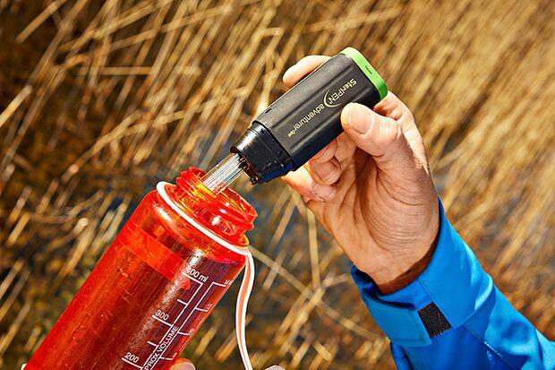 OD 0616 Basislager Instructor Trinkwasser entkeimen filtern UV