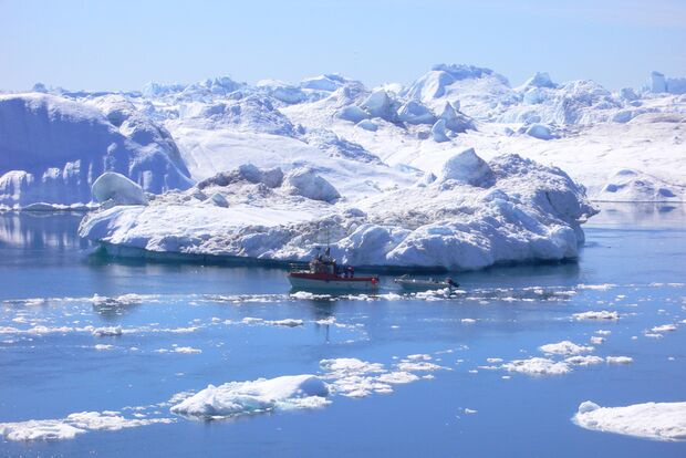 OD 0711 Grönland Eis Kälte Winter