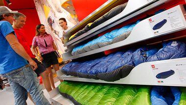 OD 0711 Outdoor Messe Friedrichshafen Neuheiten Schlafsack