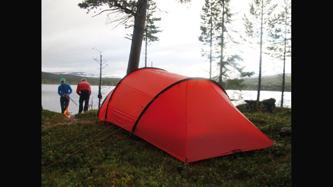 OD-0712-OutDoor-Messe-Equipment-Hilleberg-Anjan Zelt Zelten Zeltplatz Camping Trekking Schlafen (jpg)