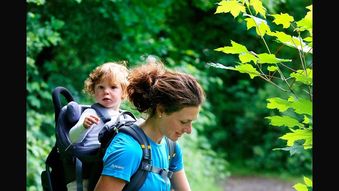 OD 0712 Outdoor Messe 2012: Kinderbekleidung Kindertragen Familie