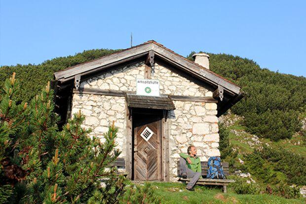 OD 0716 Wilde Hütten Arnspitzhütte