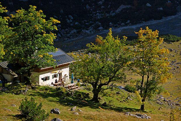 OD 0716 Wilde Hütten Oberreintalhütte