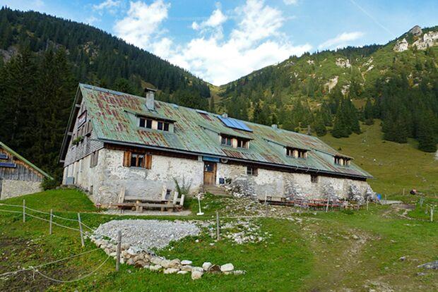 OD 0716 Wilde Hütten Willersalpe