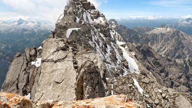 OD 0718 Berchtesgadener Land Watzmann Mittelspitze