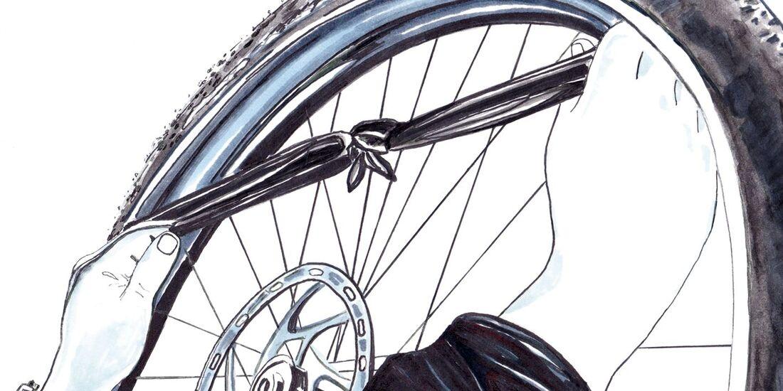 Knowhow Fahrradreifen Flicken Outdoor Magazincom