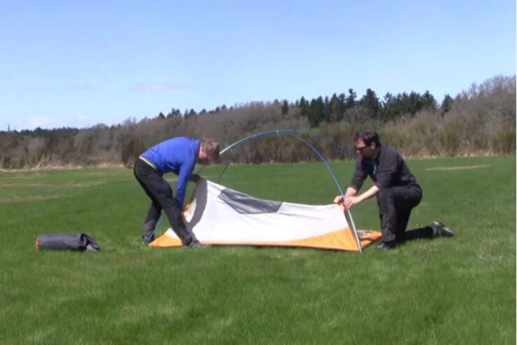Zelt aufbauen Schritt für Schritt | outdoor
