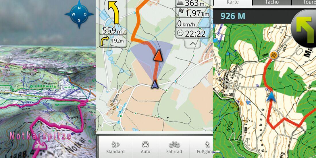 Skandinavien Karte Zum Ausdrucken.Smartphone Guide Gps Apps Im Test Outdoor Magazin Com